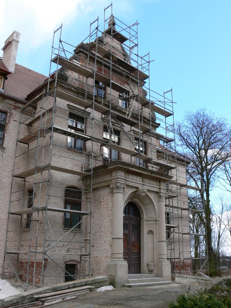 Pałac von Loesch    Laski